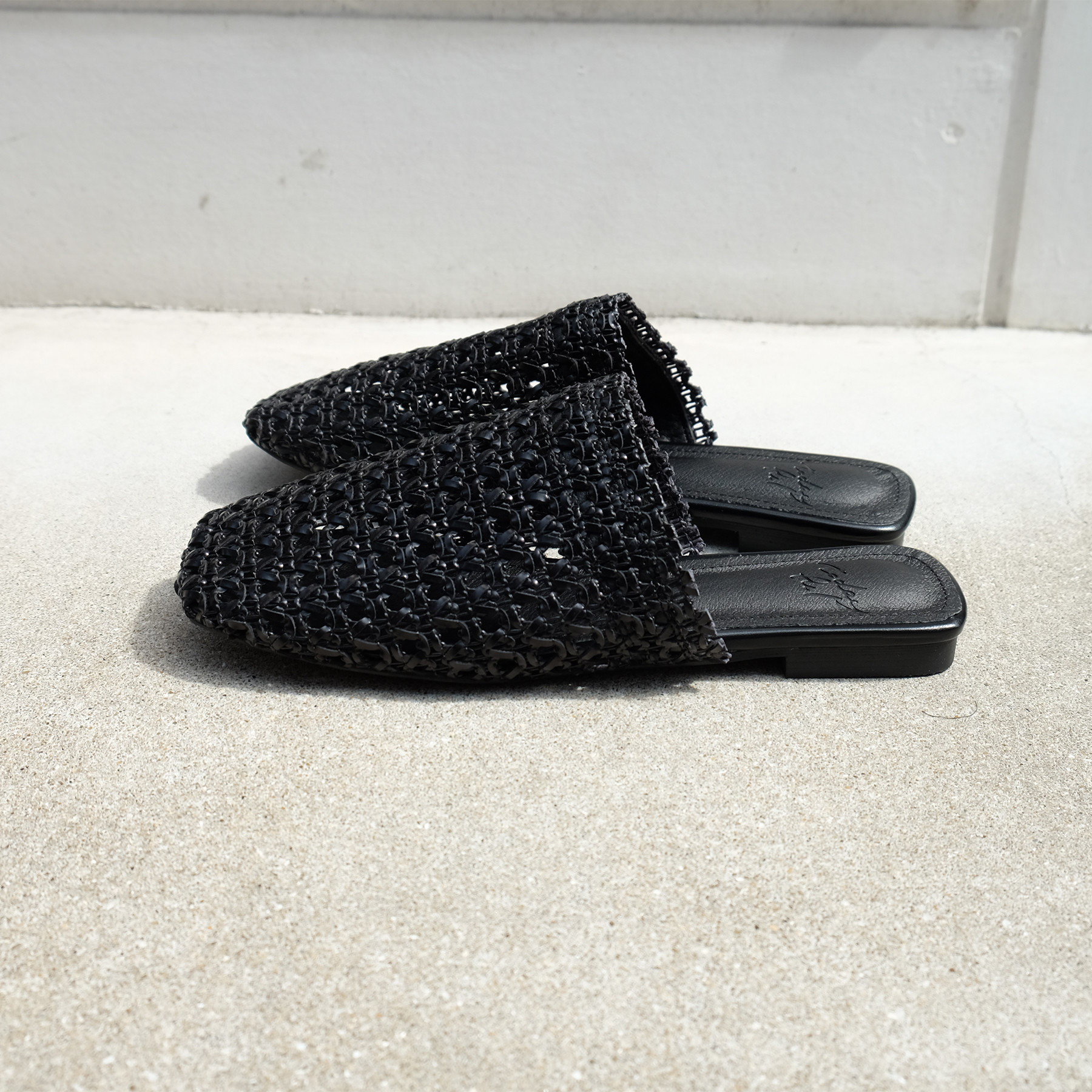 Square Mesh Slip-on