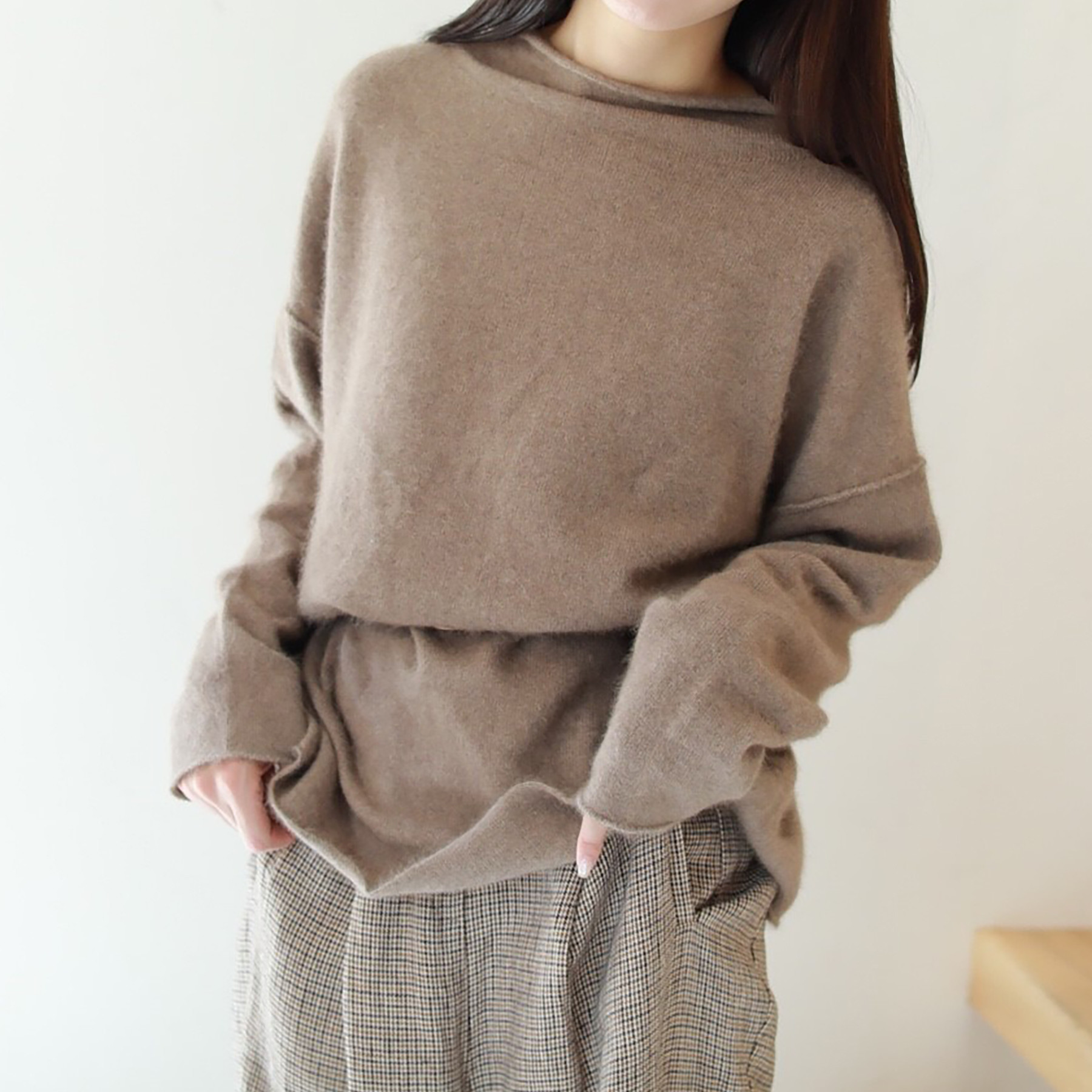 Raccoon Raugh Knit