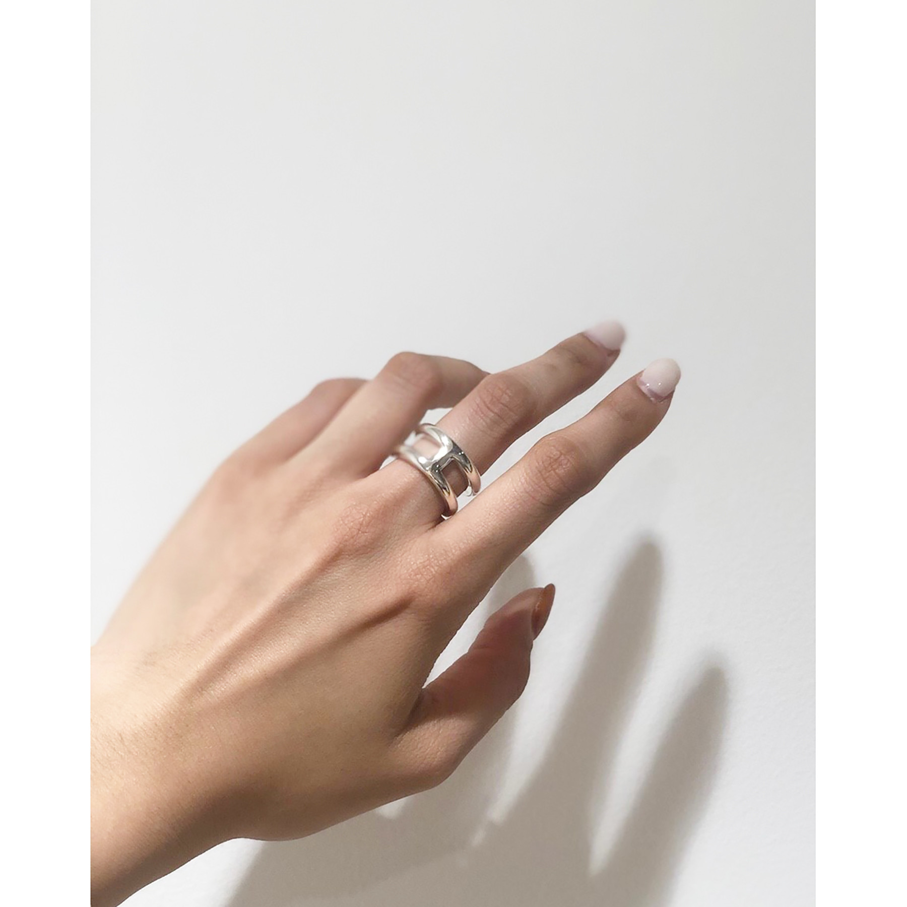 Line Ring (Silver925)